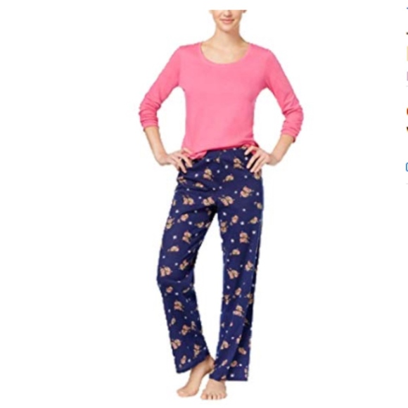 4138db083bd6 Jenni Intimates & Sleepwear | Knit Top Printed Otter Love Pants 346 ...